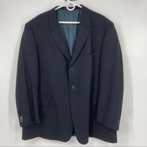 NWOT Men's Kenneth Cole Black Sports Coat. Size 50
